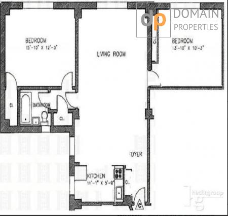 Upper West Side Luxury 2 Bed with 2.5 Baths