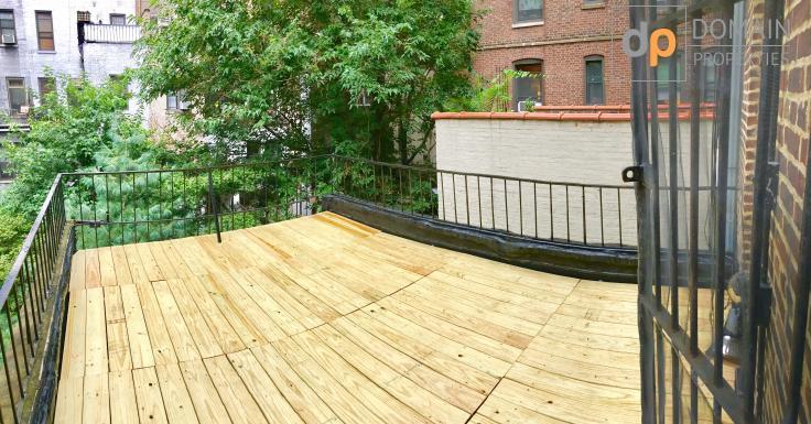 HUGE outdoor private terrace 1 bedroom in Heart od Upper West