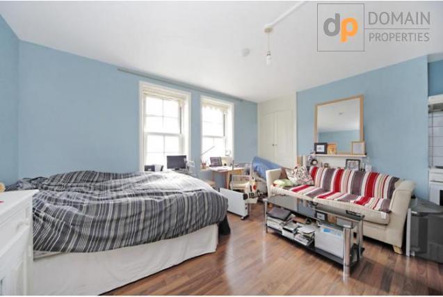 Over sized studio apartment in Chelsea