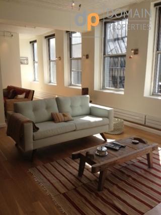 Designers open Floor two bedroom/two Bathroom loft in Tribeca